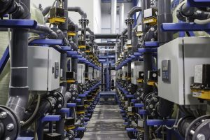 Automated Water Treatment Complex. Perspective View